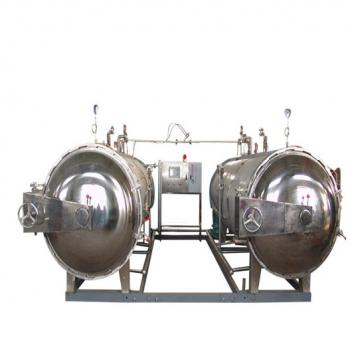 Industrial Food Sterilization Equipment Hot Air Microwave Drying Machine