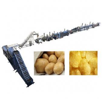 Frozen French Fries Automatic Potato Chips Making Machine Energy Saving