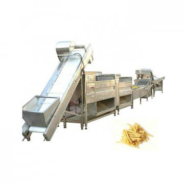 All In One Automatic Potato Chips Making Machine For Cutting And Blanching