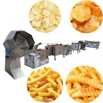 Automatic potato chips processing line french fries making machine