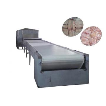 380v Conveyor Belt Meat Thawing Machine For Defrosting Frozen Meat / Aquatic Products