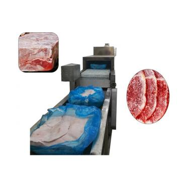 Meat Thawing Machine , Microwave Thawing Machine Silver Gray Appearance