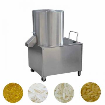 Twin-Screw Extruder Rice Mill Machine Artificial Rice Extruder Machine Couscous Making Machine