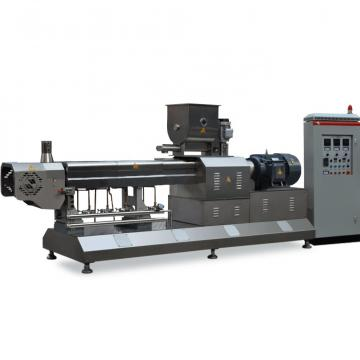 Puffed Artificial Rice Making Machine , Alloy Steel Screws Rice Extruder Machine