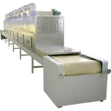 Stainless Steel Conveyor Belt Black Soldier Fly Larvae Microwave Drying Equipment
