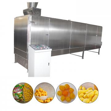Extrusion Cheese Ball Snacks Production Machines , Puffed Corn Snack Making Machine