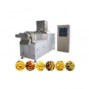 Multi-function corn flakes Puffed corn snacks making machine