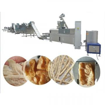 Double Screws Textured Imitation Meat Soy Protein Extrusion Machinery
